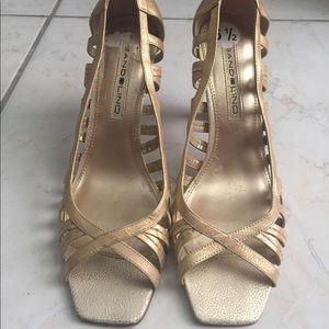 Never Worn Gold Heels